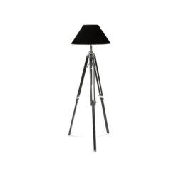 Напольная лампа TELESCOPE Black Shade Black Finish