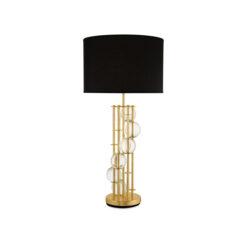 Настольная лампа Lorenzo Black Shade