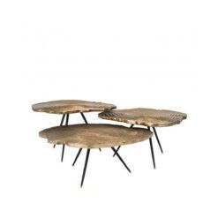 Набор из трёх журнальных столиков Quercus