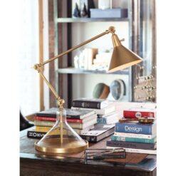 Настольная лампа Glass Funnel Beaker