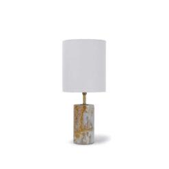 Настольная Лампа Jade and Brass Mini Cylinder