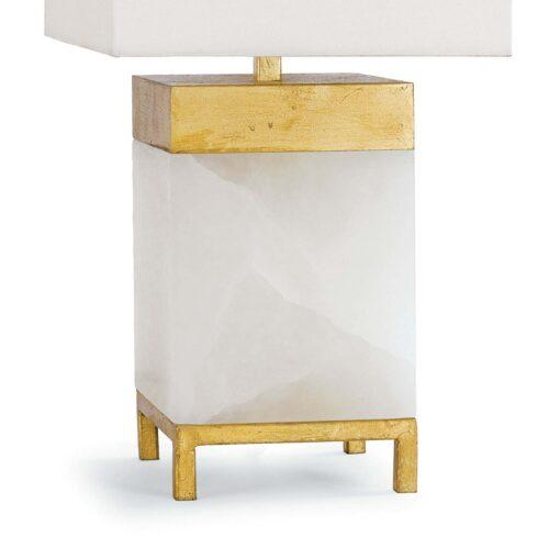 Настольная лампа Jillian Alabaster