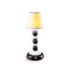 Настольная лампа Palm Firefly Black and White