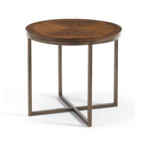 Приставной столик Pine and Metal