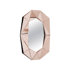 Зеркало DIAMOND L ROSE GOLD