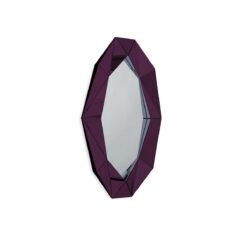 Зеркало DIAMOND XL BURGUNDY