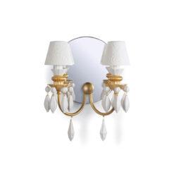Настенная лампа Belle de Nuit 2 Lights. Golden