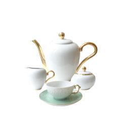 Чайный сервиз Vivian Mint 15 предметов