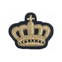 Декоративная брошь Корона