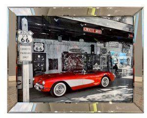 Постер A Red Car