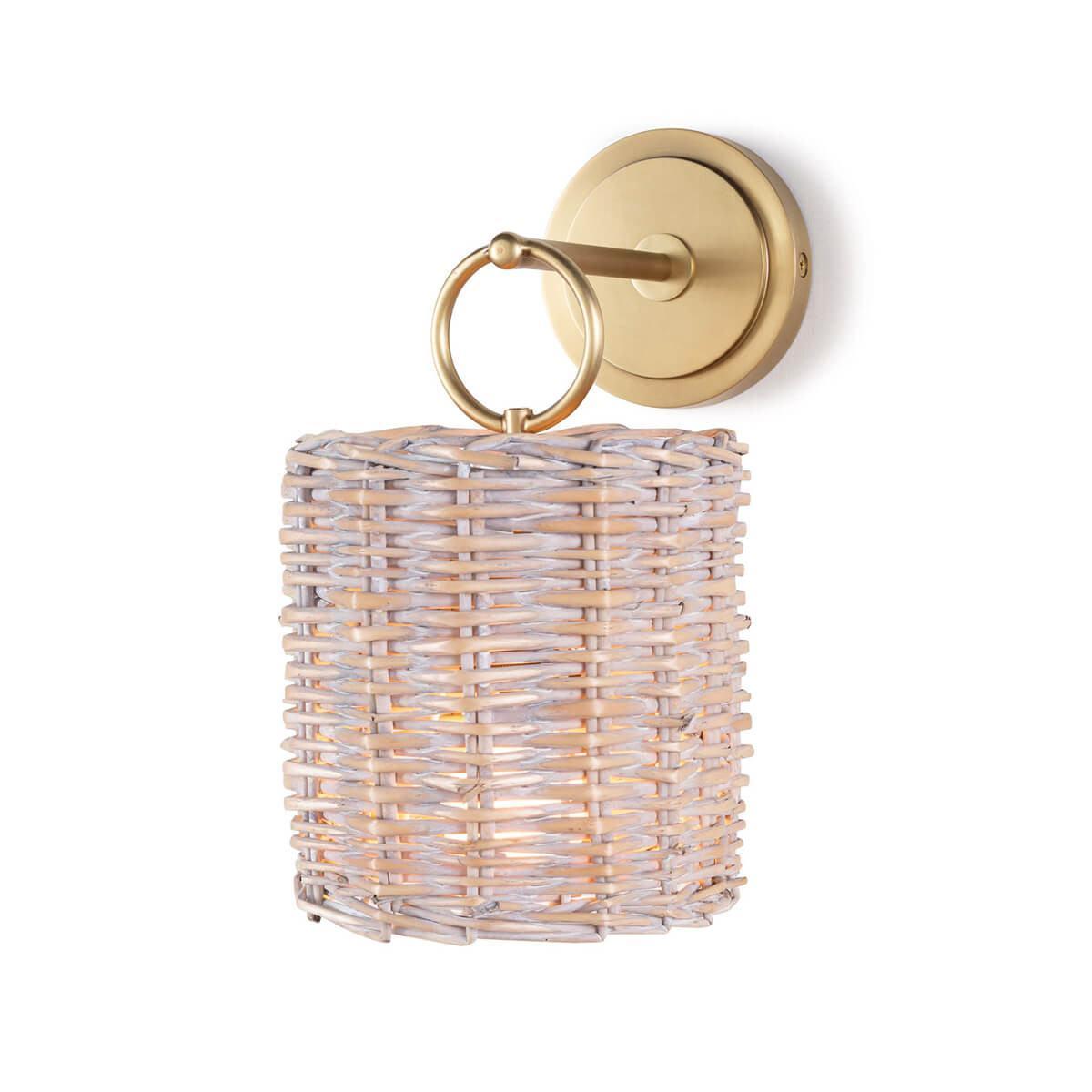 Настенная лампа Nantucket — Natural Brass