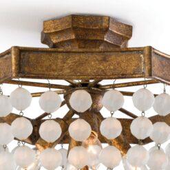 Потолочный светильник Frosted Crystal Bead