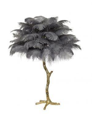 Настольная лампа PALM TREE Dove Grey