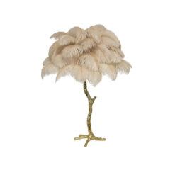 Настольная лампа PALM TREE Oyster Pink