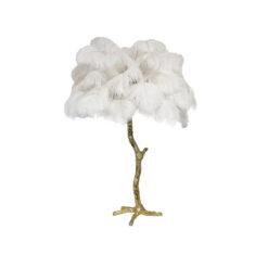 Настольная лампа PALM TREE белая
