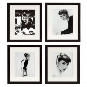 Набор из четырёх постеров AUDREY HEPBURN