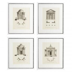 Набор из четырёх постеров ARCHITECTURE