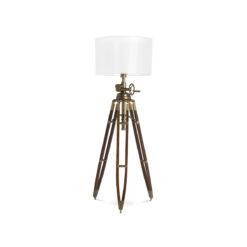 Напольная лампа ROYAL MARINE состаренная латунь