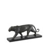Скульптура PANTHER ON MARBLE BASE