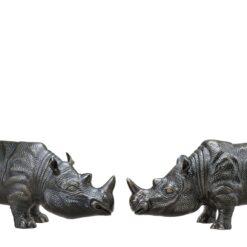 Набор из двух статуэток RHINOCEROS