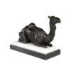 Скульптура Верблюд на мраморной основе