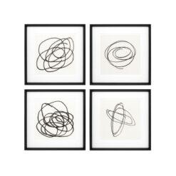 Набор из четырёх постеров BLACK & WHITE COLLECTION II