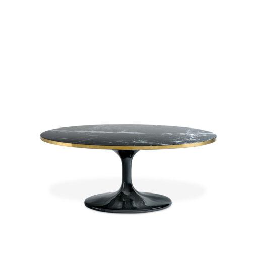 Журнальный столик PARME OVAL чёрный