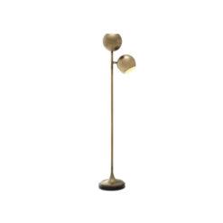 Напольная лампа COMPTON состаренная латунь