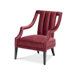 Кресло ERMITAGE Бордовый