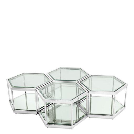 Набор из четырёх кофейных столиков SAX