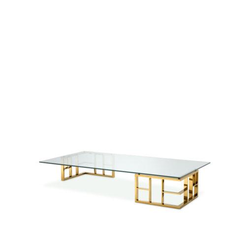 Журнальный столик RAMAGE золотистая отделка