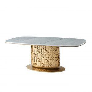 Обеденный стол овальный Colter