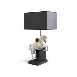 Настольная лампа Horse on Courbette