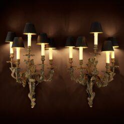 Набор из двух настенных ламп POMPADOUR