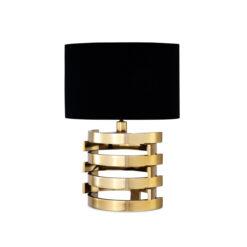 Настольная лампа BOXTER S золотистая отделка