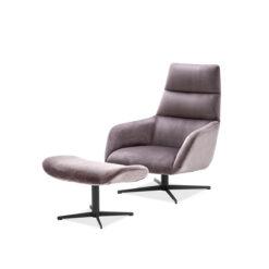 Вращающееся кресло и банкетка NAUTILUS