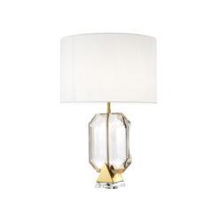 Настольная лампа EMERALD золотистая отделка