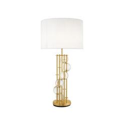 Настольная Лампа Lorenzo золотистая отделка