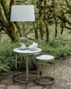 Набор из двух приставных столиков FLETCHER