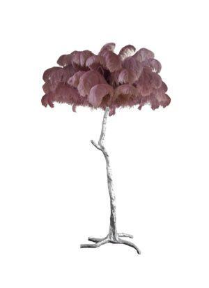 Напольная лампа PALM TREE Dusk Silver