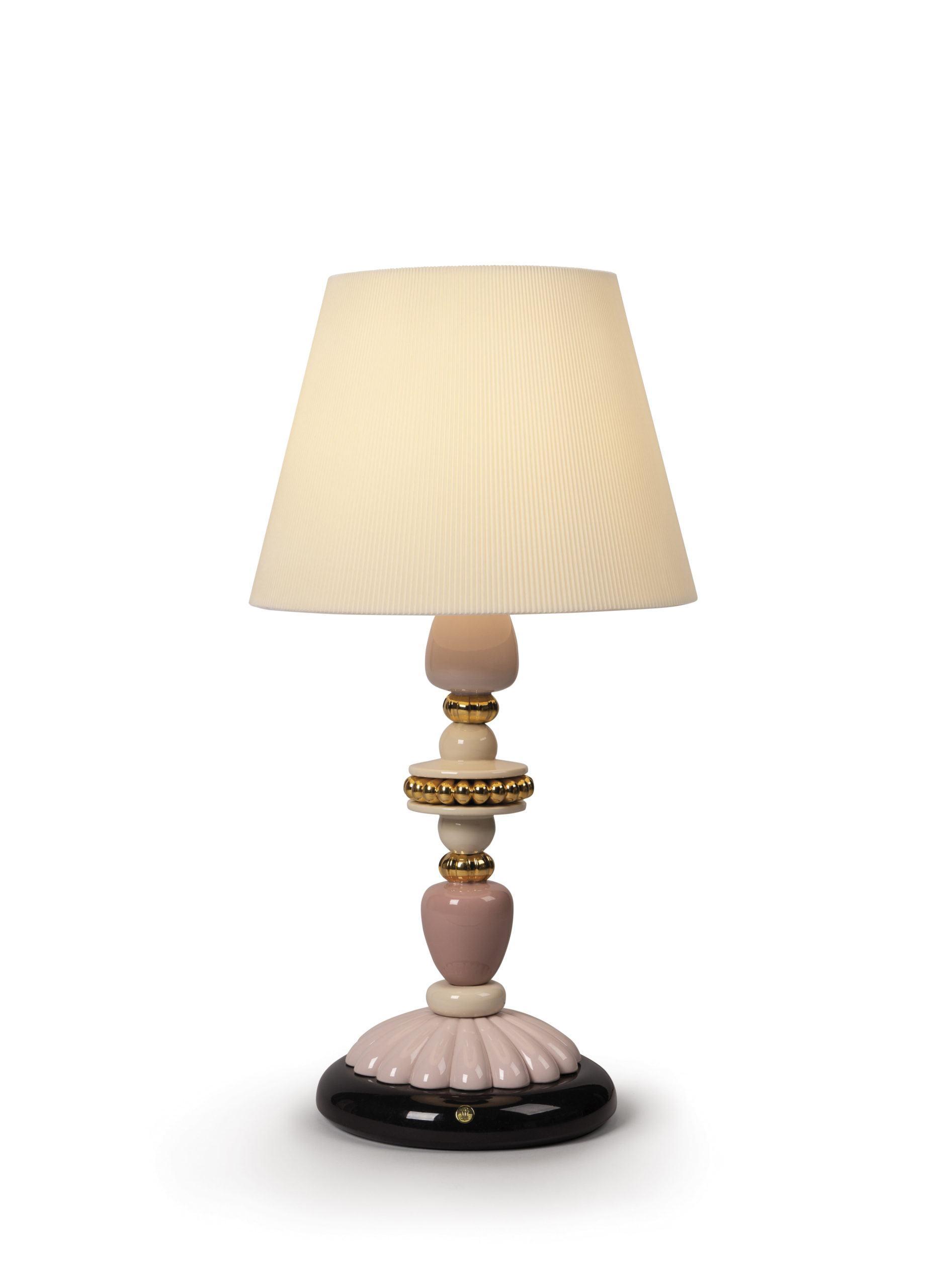 Настольная лампа Firefly Pink and Golden Luster