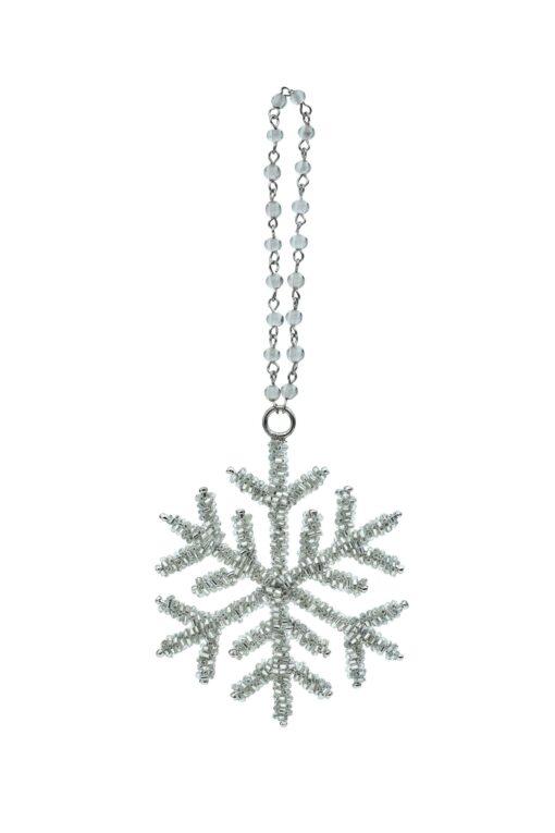 New Year Tree Decor A Snowflake
