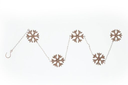New Year Tree Decor Snowflakes