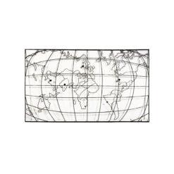 Панно Карта мира