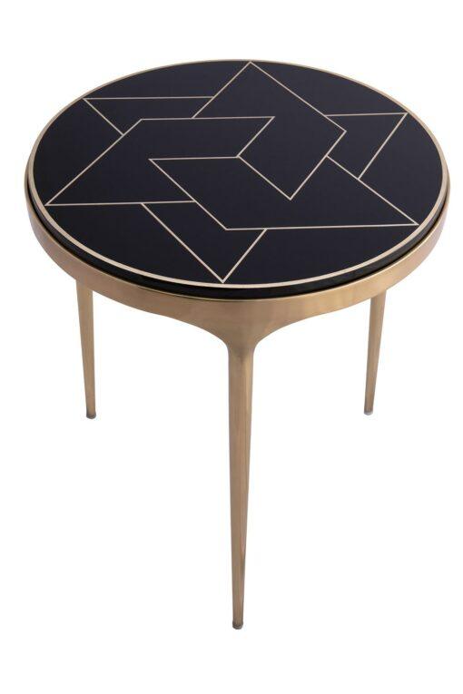 Лакированный кофейный стол