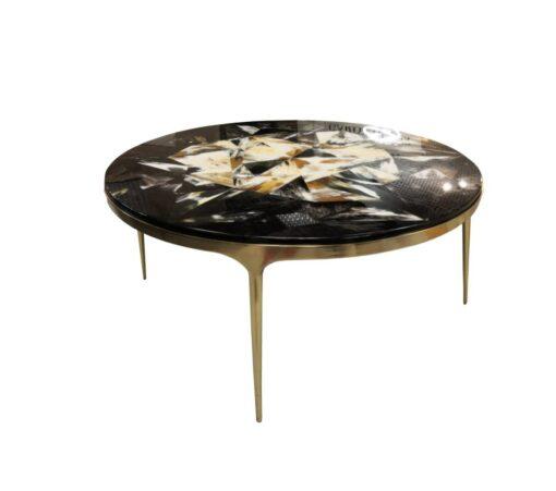 Кофейный столик лакированный