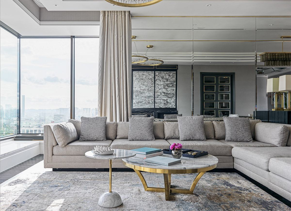Проект Ольги Эшби: квартира в стиле современной британской классики