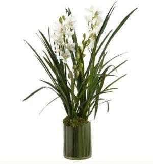Искусственные цветы Цимби́диум