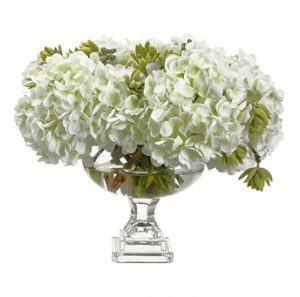 Искусственные цветы Гортензия\Седум