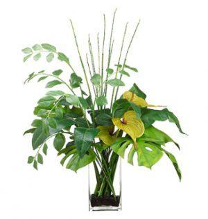 Искусственные цветы Анту́риум
